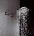 Hlavová nástenná sprcha STROMBOLI 500 x 200 x 30 mm bez vodopádu
