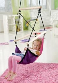 Fotogalerie: Detské hojdacie kreslo swinger pink AZ-2030486