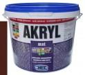 tmavo hnedá univerzálna farba HET Akryl mat - 3 kg