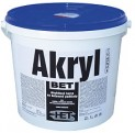 biela akrylátová farba HET Akryl BET - 5 kg