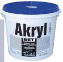 šedá akrylátová farba HET Akryl BET - 5 kg