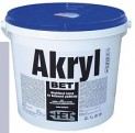 šedá akrylátová farba HET Akryl BET - 35 kg