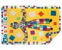 Fleece deka Kostičky 110x160