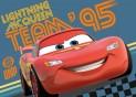 Detský koberec Cars Team 95 CARS 24, 95 x 133 cm