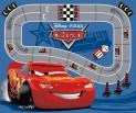 Detský koberec Cars Racetrack CARS 22, 95 x 133 cm