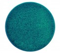 Okrúhly koberec Eton tyrkys, priemer 80 cm