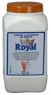 Fotogalerie: Krémová abrazívne kvapalné pasta na umývanie rúk Faren ROYAL 2500 ml