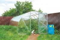Fotogalerie: Polykarbonátový skleník Econom 4 m (4x3 m)