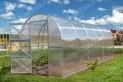 Polykarbonátový skleník Dvushka 4 m (4x2 m)