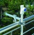 Balkónová svorka na upevnenie slnečníka Schneider