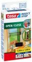 Sieť proti hmyzu Tesa Open Close na suchý zips pre časté otváranie 1,3 x1, 5 m