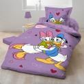 Obliečky Disney - Donald a Daisy 1x 140 / 200 , 1x 90 / 70