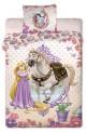 Obliečky Disney - Princess 2013 yellow 1x 140 / 200 , 1x 90 / 70