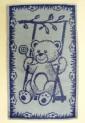 Detský uterák - Macko modrý