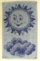 Detský uterák - Slniečko modré