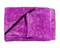 Super soft deka Dadka - fialová 150 / 200