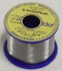 Fotogalerie: Cín SN 60 PB 40 - drát 1,5 mm - 100 g 1390016