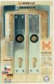 Kování 72 mm FAB dveřní K488 370043