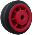 Kolo 80/12/L40 mm pryž/disk plast - kluzné uložení - max. 50 kg 4930001