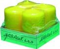 Svíčka adventní 4 ks 450284