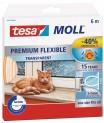 Silikónové tesnenia do okien Tesamoll Premium flexible transparentné 05417-02