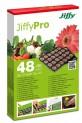 Jiffy - 7 Náhradná podložka 48 ks rašelinové tablety