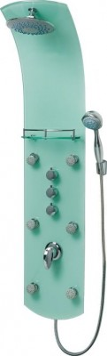 Fotogalerie: Sprchový masážny panel Eisl KARIBIK ORSP-YMSB zelený