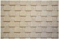 Béžový koberec 3D 80 x 150 cm