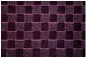 Fialový koberec 3D 80 x 150 cm