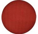 Guľatý koberec Birmingham vínový priemer 120 cm