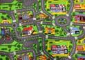 Detský koberec City Life šírka 4 m dĺžka podľa priania s obšitím