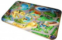 Fotogalerie: Detský koberec Ultra Soft ZOO 70x95 cm