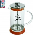 French press 1 l sklo / nerez kafetier 491285