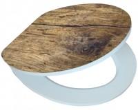 Fotogaléria: Softclose WC sedátko RUSTIKAL s povrchom vo vysokom lesku