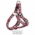 :D-ring postroj BORDEAUX 30-40cm/15mm (XS-S) DOPRODEJ