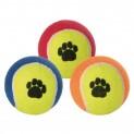 Tenisový míč barevný s tlapkou 10cm