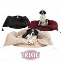 .Pelech s dekou King of Dogs černý 100x28x75 cm DOPRODEJ