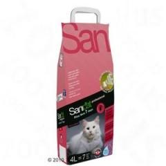 Fotogalerie: SANICAT Prof. 7 DAYS - kočkolit s vůní ALOE VERA 4 L/2,ů7 kg