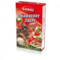 SANAL STRAWBERRY vitamínový jahodový drops 45 g DOPRODEJ