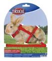 Nylonový postroj a vodítkem na králíčka TRIXIE