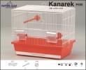 Klec KANÁREK SMALL - bílá 350x230x310mm