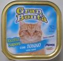 GRAN BONTA paštika s tuňákem pro kočky 100g