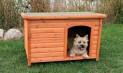 Bouda pro psa, dřevěná, rovná střecha 116x82x79cm TRIXIE
