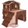 Domek pro křečky, 2 místnosti 15x15x16cm TRIXIE