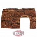 :Dřevěná kůra domek pro hlodavce 20x10x19cm - DOPRODEJ