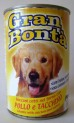 GRAN BONTA konzerva  kuře, krůta pro psy 400g