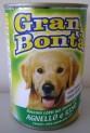 GRAN BONTA konzerva s jehněčím masem pro psy 1230g