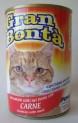 GRAN BONTA konzerva s hovězím masem pro kočky 400g