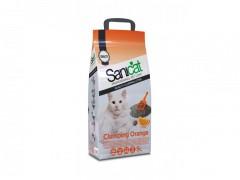 Fotogalerie: SANICAT clumping ORANGE, hrudkující pomerančový 5 L/5,3 kg