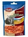 Premio CHEESE CHICKEN CUBES - kuřecí kostičky se sýrem 50 g